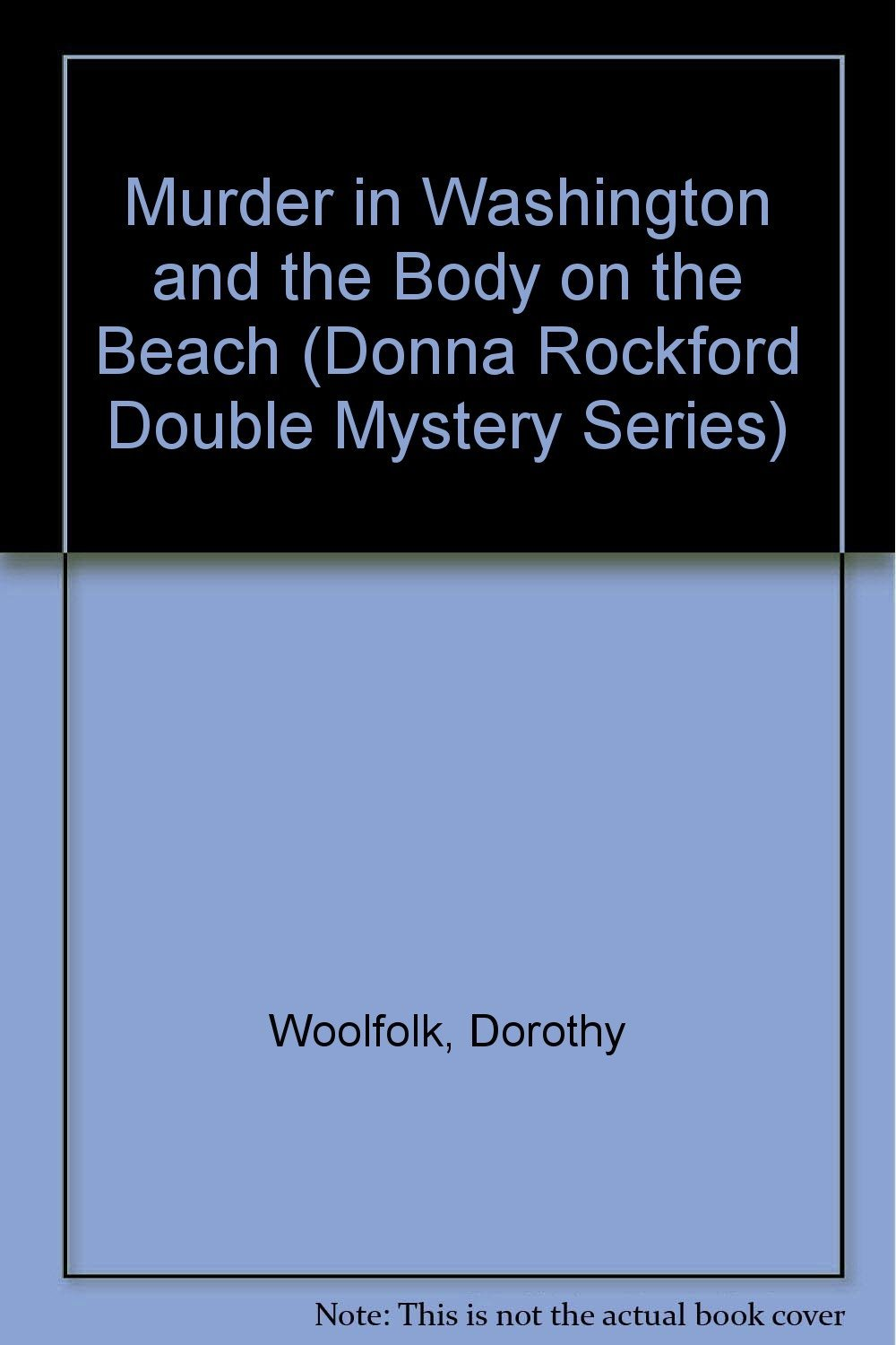 a review of dorothy woolfolks donna rockford mystery books Public lab books to borrow featured movies all video latest this just in prelinger archives democracy now full text of variety (march 1916) see other formats.