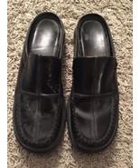 Women's Dansko Black Open Heel Clogs, Made In Portugal, Size 41 Euro / 1... - $29.99