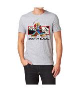 Spirit of Samurai Warrior Martial Arts T-Shirt Gray 2XL ronin ghost tee ... - $18.50