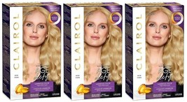 3 Boxes Clairol Age Defy Hair Coloring Tools, 9 Light Blond, 100% Gray C... - $29.69