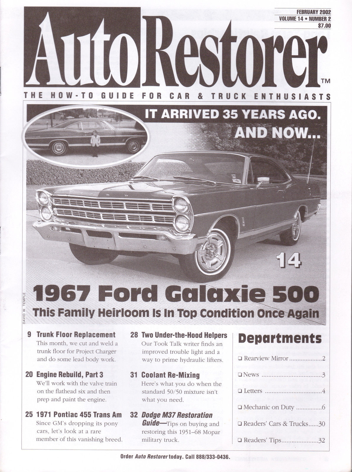 Primary image for Auto Restorer Magazine * Volume 14 * Number 2 * February 2002