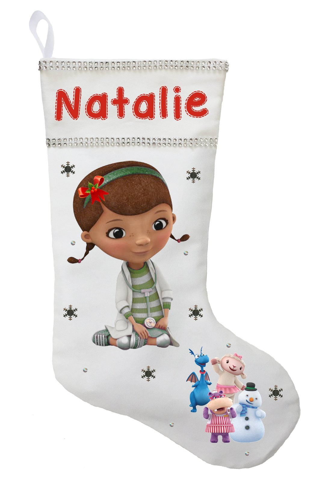 Doc McStuffins Christmas Stocking - Personalized and Hand Made Doc McStuffins Ch