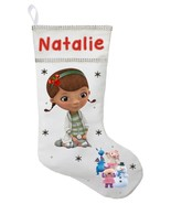 Doc McStuffins Christmas Stocking - Personalized and Hand Made Doc McStu... - $28.49+