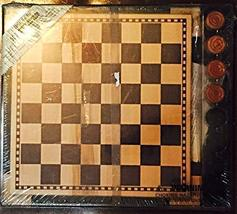 Wooden Checkers Game - $69.99