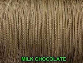 1000 YARDS: 1.6 MM MILK CHOCOLATE LIFT CORD   ROMAN/PLEATED shade / blinds - $107.91