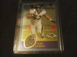 2003 Topps Chrome #128 Ray Lewis-Baltimore Ravens-Hall Of Fame- - $3.12