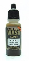 Vallejo Sepia Wash, 17ml - $6.15