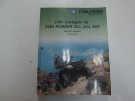 2005 Polaris Ranger Tm 2x4 4x4 6x6 Service Repair Manual Minor Wear Stains Oem - $82.12