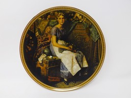 "Knowles ""Dreaming in the Attic"" Collectible Plate- Rockwell's Rediscover... - $16.14"