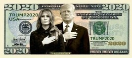 Pack of 25 - Donald Trump 2020 Presidential Re-Election Dollar Bill Firs... - $9.85