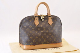 Louis Vuitton Monogram Alma Hand Bag M51130 Lv Auth 7984 - $480.00