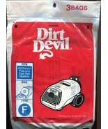 Brand New - Dirt Devil Type F Vacuum Bags 3 Pack - $3.55