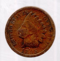 1895 Indian Head Cent - Circulated - abt Extremely Fine - $8.99