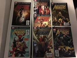 The Mighty Avengers #1-7 Marvel Comic Book Lot / Run Of 7 2007-08 NM/M C... - $11.82