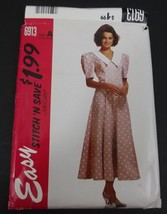 McCalls Pattern 6913 Easy Stitch Size A 8 Thru 14 Uncut With Instructions - $8.99