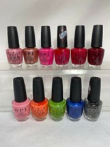 (11) OPI Nail Lacquer Nail Polish Lot Full Size No Repeats/Duplicates Bu... - $32.66