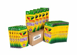 Crayola Colored Pencils 12 Each (Pack of 24) Pre-sharpened Assorted Colo... - $44.99