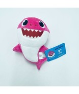 "Baby Shark 8"" Plush Pink Mommy Shark Wowwee New - $13.99"
