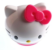 Sanrio Kids Hello Kitty Pink Silicone Strap Watch with Molded Head Storage Case image 2