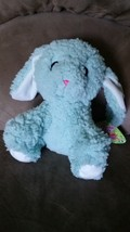 "2016 EASTER BUNNY Blue Soft Brand New Plush Stuffed Animal NWT 16"" Sugar Loaf - $9.99"