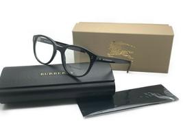 Burberry B 2194 3001 Shiny Black Women's Authentic Eyeglasses Frame 50MM Mib 928 - $116.37