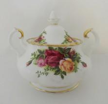 Royal Albert Old Country Roses Sugar Bowl with Lid Bone China - $49.99