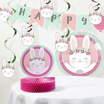 Bunny Party Birthday Decorations Kit - $23.72