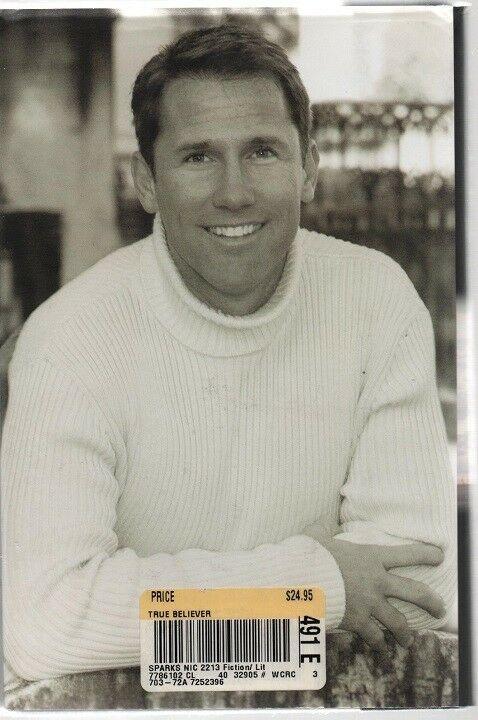 True Believer - Nicholas Sparks - HC - 2005  - Warner Books - 0-446-53243-6. image 2