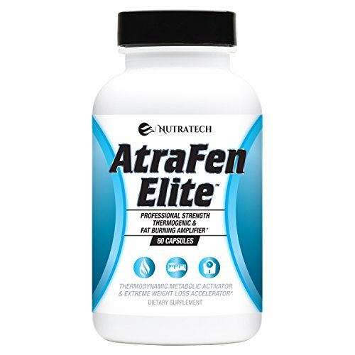 Atrafen Elite - Professional Formula Appetite Suppressant Fat Burner Diet Pill a
