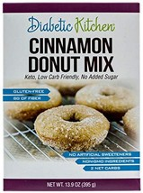 Diabetic Kitchen Cinnamon Donut Mix Is Keto-Friendly, Sugar-Free, Low-Carb, Glut