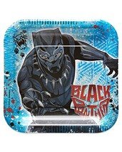 American Greetings Black Panther Party Supplies, Paper Dessert Plates, 8-Count ( - $4.54