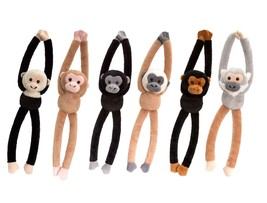 Keel Toys chattering   Hanging Monkey With Sound 46cm 6 Designs one supplied - $7.99