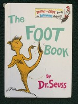 Bright and Early Bks.: The Foot Book by Dr. Seuss (1968, Hardcover) - $18.95