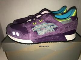 Asics Gel Lyte III Purple Volt Gray Purp Haze Men's Size 11 HK538 - $140.00