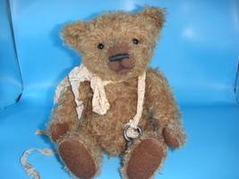 Artist Bear Handmade Mohair One of a Kind Heirloom Collectors Teddy - $350.00