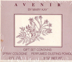 Mary Kay Avenir 2oz Spray Cologne & Perfumed Dusting Powder 3oz Gift Set - $99.95