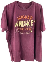 Wicked Whiskey Corner Open 24 Hours T-Shirt Size XL - $12.86