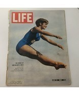 VTG Life Magazine July 31 1964 Olympic Diver Barbara Talmage Cover and F... - $14.25