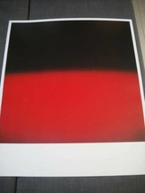 Hiroshi Sugimoto OPTICKS Exhibition Limited Poster RED JODO no RURI Offs... - $734.01