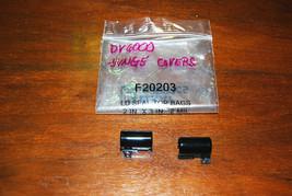 HP DV6000 gloss black hinge covers - $5.89