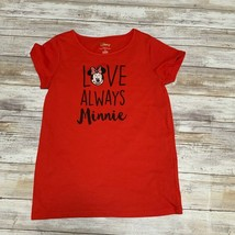 Disney Tutu Couture Kids Red Minnie Mouse Shirt Size 10 - $9.89