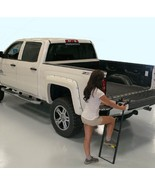 Tailgate Ladder Folding Adjustable Steps Pickup... - $61.49