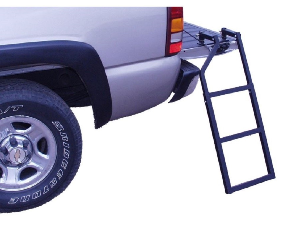 Tailgate Ladder Folding Adjustable Steps Pickup Truck Bed Cargo Step Stair Tools