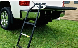 Truck tailgate ladder real close thumb200