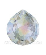 Swarovski Strass 40mm Aurora Boreali​s Crystal Ball Prism Colorful Rainb... - $33.50