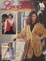 Lacy Vests & Sweaters, Annie's Attic Crochet Pattern Booklet 87V76 - $5.95