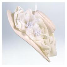 She's Got Hat-itude! - 2011 Hallmark Ornament - Hat Flowers Fashion Reli... - $7.17