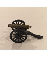 Penn Craft Brass Cast Iron Civil War Cannon Military Toys  - $36.00