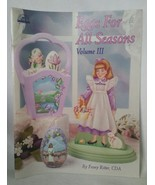 Eggs For All Seasons Volume III Frony Ritter Tole Painting Instruction B... - $12.86