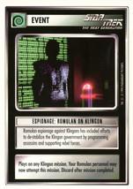 Star Trek CCG - Espionage: Romulan on Klingon - $0.69